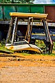 Old bulldozer head in Industrial Side, Selibe-Phikwe.jpg