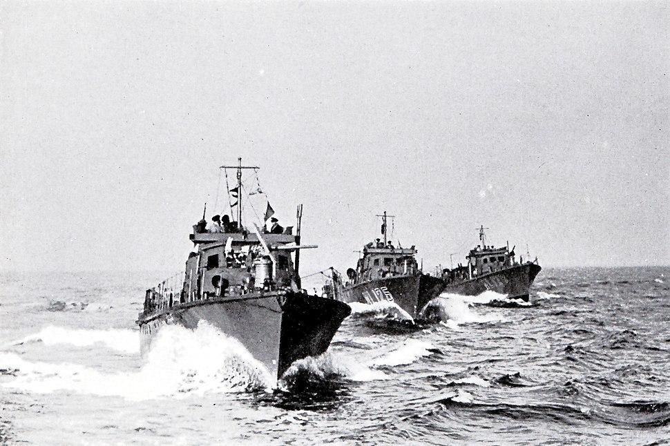 Ole Friele Backer norske marinefartøyer