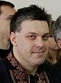 Oleh Tyahnybok and Bohdan Chervak, 2 February 2015 (cropped).jpg