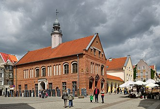 Olsztyn - Old Town Hall on the Market Square