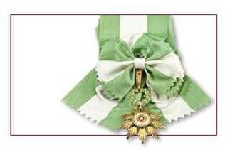 Order of Entrepreneurial Merit - Sash and badge of Agricultural Merit