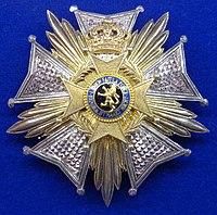 Order of Leopold II grand officer star (Belgium 1970-1990) - Tallinn Museum of Orders.jpg