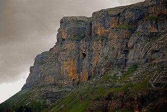 Ordesa y Monte Perdido National Park - Image: Ordesa National Park Northwest face of Cirque of Soaso
