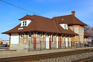 Oregon Short Line Railroad Depot (Ontario, Oregon) - Oregon Short Line Railroad Depot in 2009