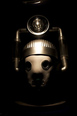 The Tenth Planet - The Mondas Cyberman as they appear at the Doctor Who Experience.