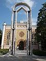 Ornamented gate, Szent Istvan Square, 2016 Szekszard.jpg