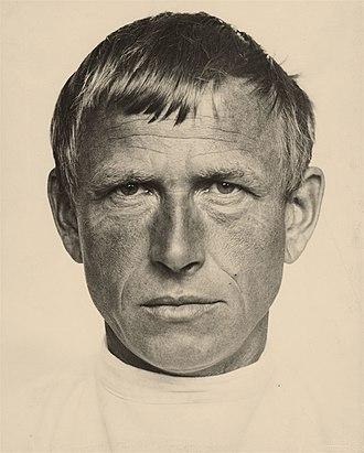 Otto Dix - Otto Dix (photograph by Hugo Erfurth, c. 1933)