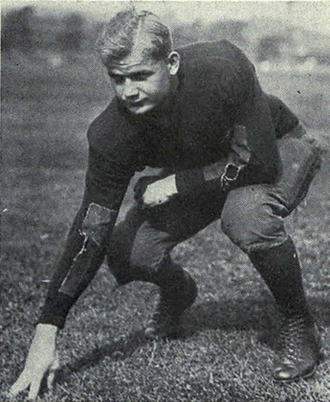 Otto Pommerening - Otto Pommerening, 1928 All-American