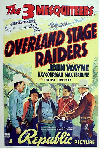 Overland Stage Raiders - Film poster