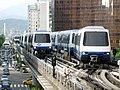 Overrun of MRT Jhongshan Jr Hi Sch Sta.JPG