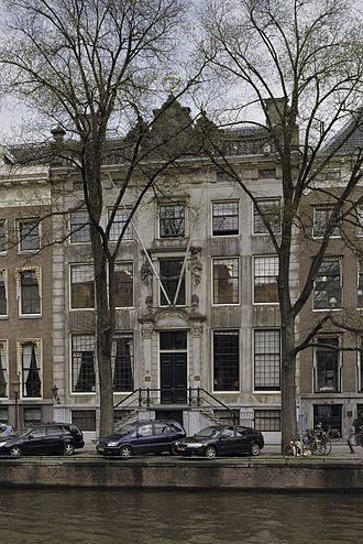The Art Gallery of Jan Gildemeester Jansz - Herengracht 475 in 2005.