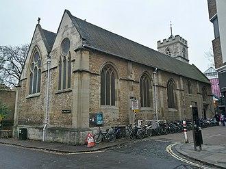 St Ebbe's Church, Oxford - Image: Oxford St Ebbe's 1
