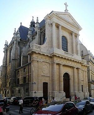 L'Oratoire du Louvre - Image: P1120953 Paris Ier rue Saint Honoré Temple de l'Oratoire du Louvre rwk
