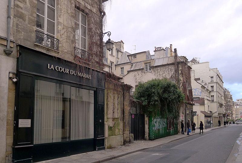 Fichier:P1150511 Paris III rue des Archives n°81 rwk.jpg
