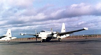Guinea-Bissau War of Independence - A Portuguese air force Lockheed P-2 Neptune, 1970s