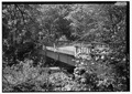 PERSPECTIVE VIEW LOOKING WEST OF TANNER CREEK BRIDGE. - Historic Columbia River Highway, Troutdale, Multnomah County, OR HAER ORE,26-TROUT.V,1-69.tif