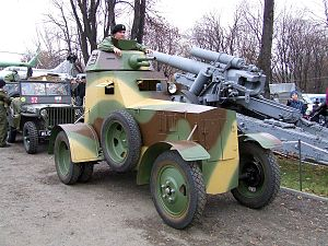 Samochód pancerny wz. 34 - Replica of armoured car 34