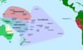Pacific Culture Areas-de incl. Queensland and Peru.png