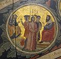 Pacino di bonaguida, albero della vita, 1310-15, da monticelli, fi 10 Negazione di Pietro e Cristo davanti ad Anna 2.jpg