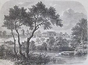 Tei, Bucharest - Image: Palatul Ghica, Colentina, 1859
