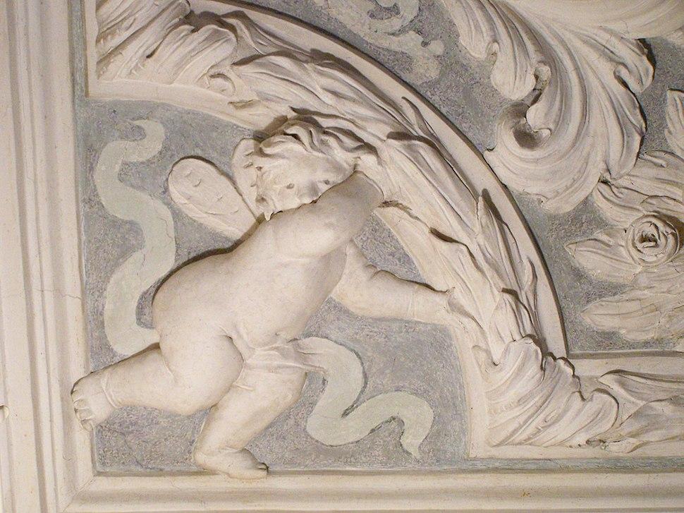 Palazzo Chiericati cherub ceiling 3