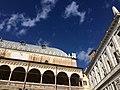Palazzo della Ragione lato Palazzo Moroni vista Piazza Erbe.jpg