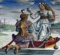 Palazzo schifanoia, salone dei mesi, 04 aprile (f. del cossa), trionfo di venere 02 venere.jpg