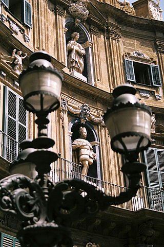 Lamps and Statues