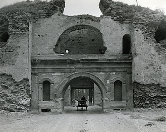 Nicaea - Istanbul Gate, photo by Paolo Monti, 1962.