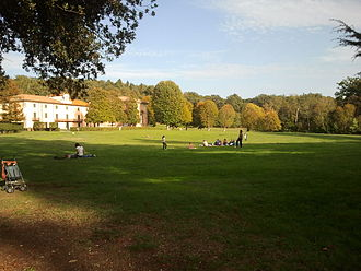 Villa di Pratolino - The park and Villa Demidoff, which is the restored Paggeria of Villa di Pratolino.
