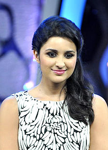 Parineeti Chopra is seen smiling