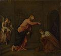 Paris Bordone - Cristo battezza San Giovanni Martire (National Gallery, London).jpg