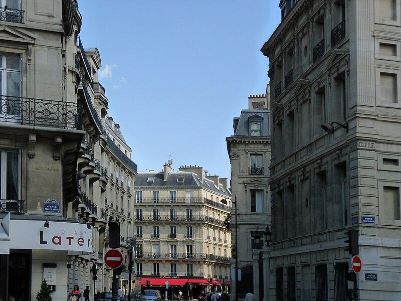 Fichier:Paris rue de tilsitt.jpg