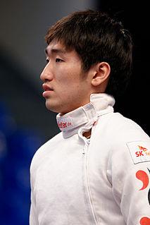 Park Sang-young Korean fencer