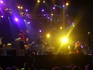 Parliament-Funkadelic - George Clinton and Parliament-Funkadelic at the Roskilde Festival, 2006.