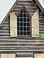 Parsons Dead Indian Lodge gable window - Ashland vicinity Oregon.jpg