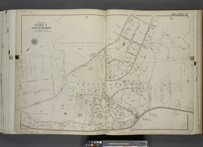 File:Part of Ward 2. (Map bound by Todt Hill Road, New York Ave, Benedict Ave (Atlantic Ave), Corners Road, Richmond Road, Flagg Place (Prospect Ave)) NYPL1646251.tiff