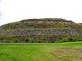 Parte posterior, Piramide de Cuicuilco.jpg
