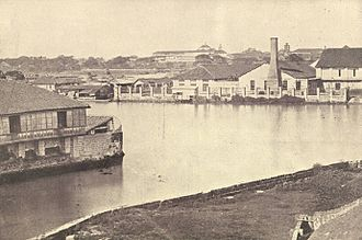 Pasig River - The Pasig River in 1899