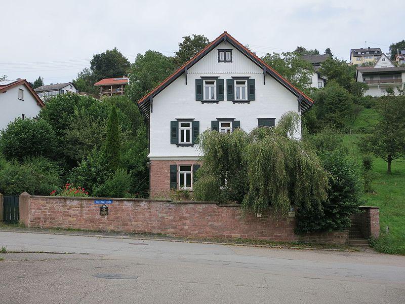 File:Pastor Karl Ullmer's house in Wilhelmsfeld, Germany - 1.jpg