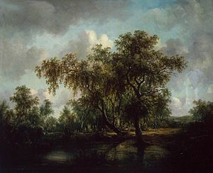 Patrick Nasmyth - Landscape with a Pond  (1815)