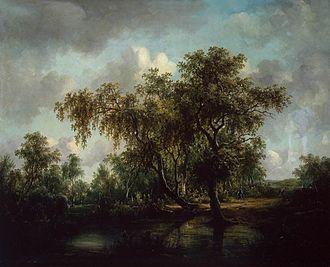 Patrick Nasmyth - Landscape with a Pond  (1815)