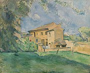 Paul Cézanne - The Farm at the Jas de Bouffan (La Ferme au Jas de Bouffan) - BF188 - Barnes Foundation.jpg