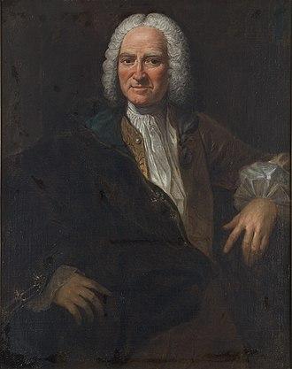 Baron d'Holbach - Portrait by Alexander Roslin