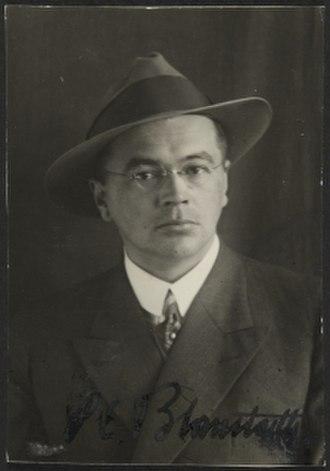Pauli E. Blomstedt - P. E. Blomstedt.