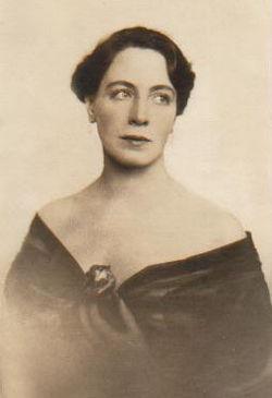 Pauline Brunius cirka 1910'ere.