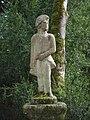 Pazo de Oca - 13 - Estatua nos xardins.JPG