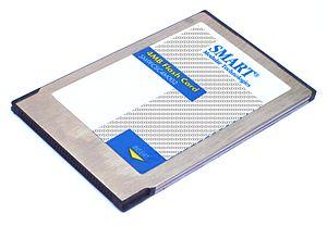 Linear Flash - A type I PCMCIA card