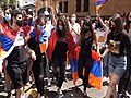 Peaceful protest of the Armenian community in Los Angeles.jpg