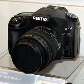 Image illustrative de l'article Pentax K200D
